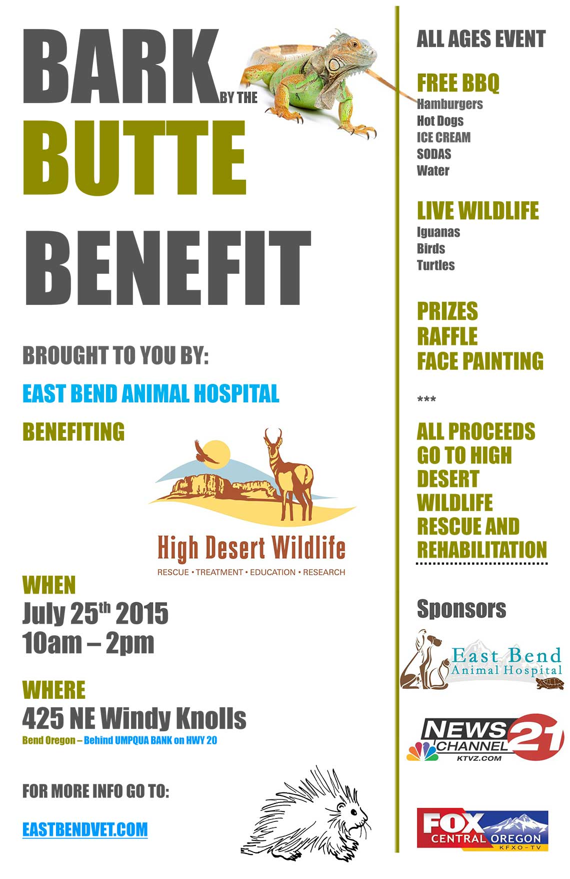 Bark by the butte benefit bend oregon